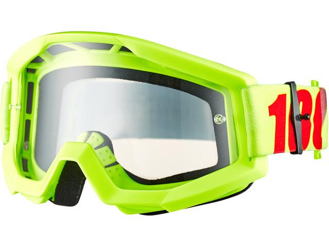 100% Strata Goggles, mercury-clear